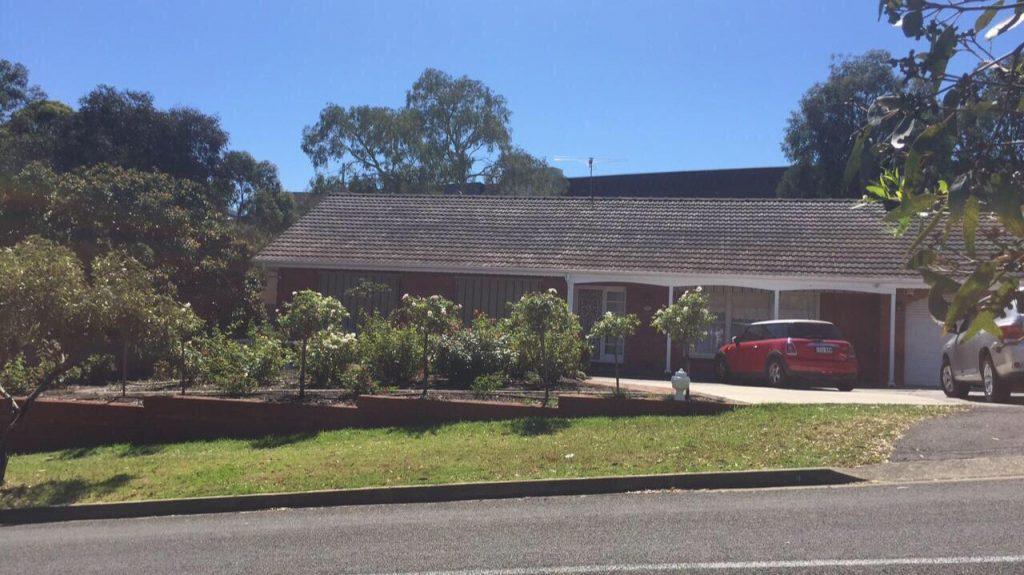 PJ in Adelaide (Australien) - Unterkunft bei Doyle - Haus in Bedford Park