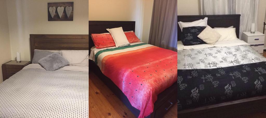 PJ in Adelaide (Australien) - Unterkunft bei Doyle - Schlafzimmer