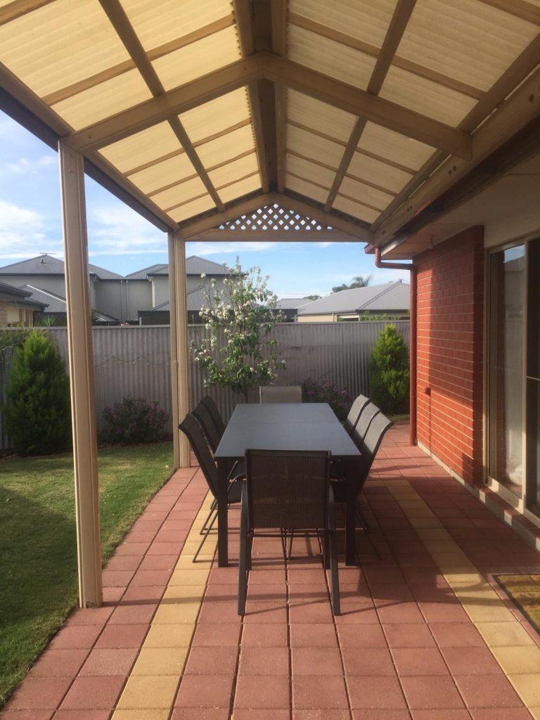 PJ in Adelaide (Australien) - Unterkunft in Sturt - Garten