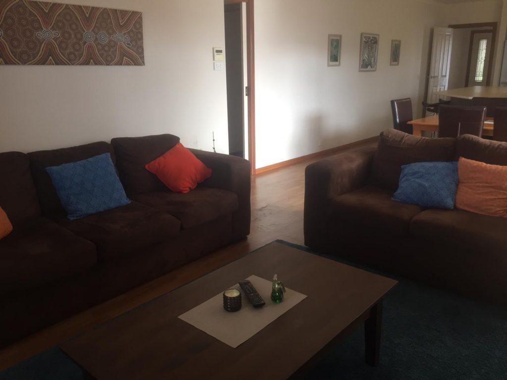 PJ in Adelaide (Australien) - Unterkunft in Sturt - Wohnzimmer