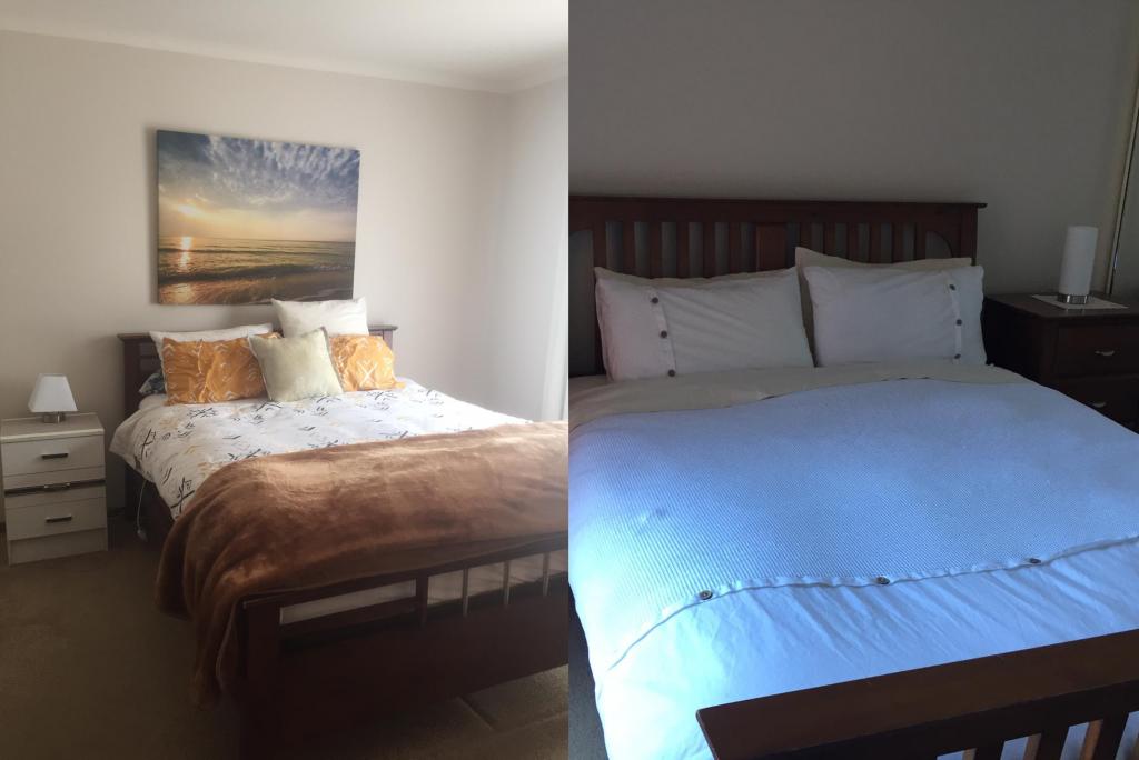 PJ in Adelaide (Australien) - Unterkunft in Sturt - Schlafzimmer