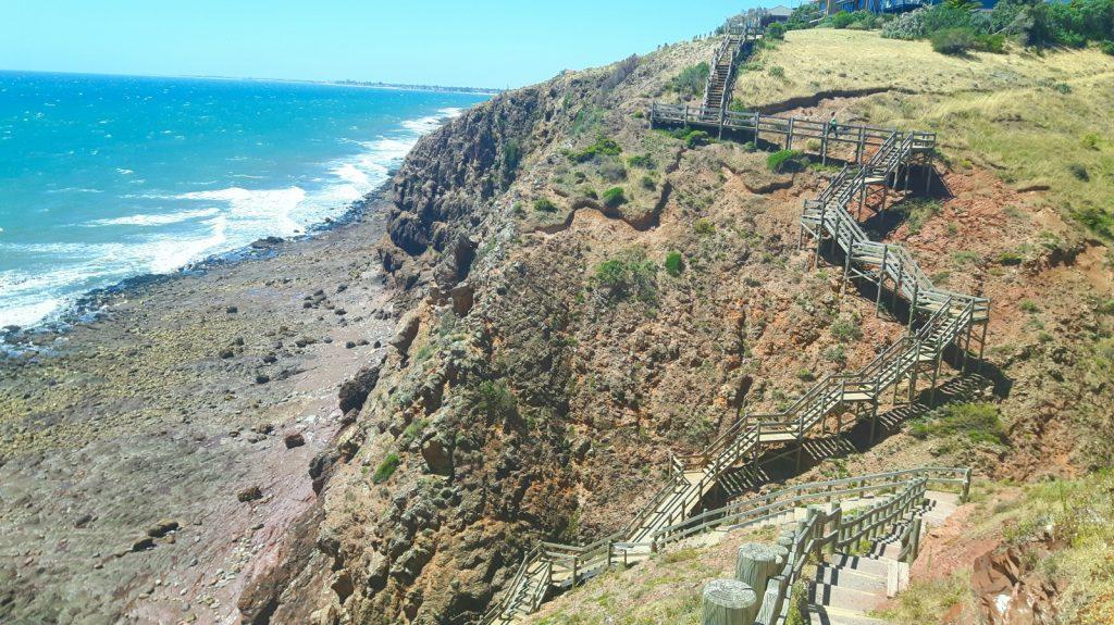 PJ in Australien (Adelaide) - Freizeitaktivitäten - Walking SA