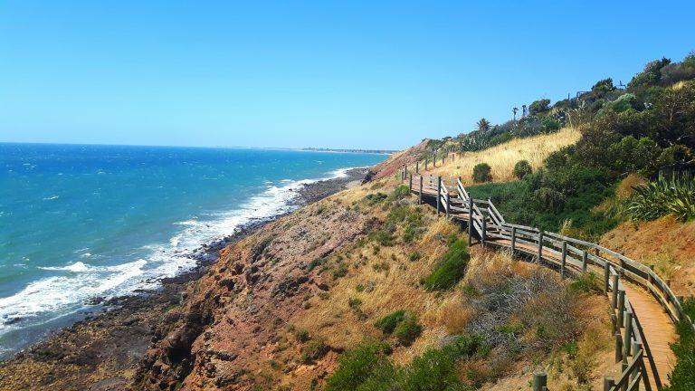PJ in Australien (Adelaide) - Freizeitaktivitäten - Costal Walk