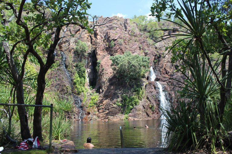 PJ Australien (Darwin) - Freizeitaktivitäten - Litchfield Nationalpark Wasserfall