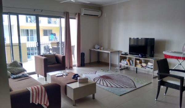 PJ in Australien (Darwin) - Unterkunft - Wohnzimmer im Studentenwohnheim