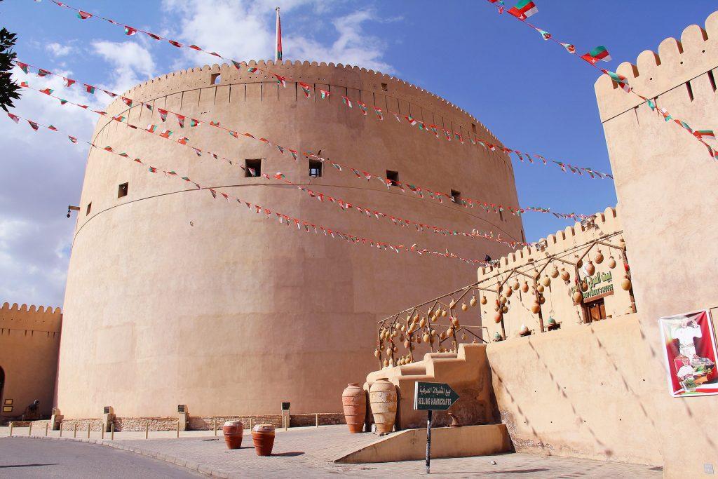 PJ im Oman (Maskat) - Freizeitaktivitäten - Fort Nizwa - by pixabay