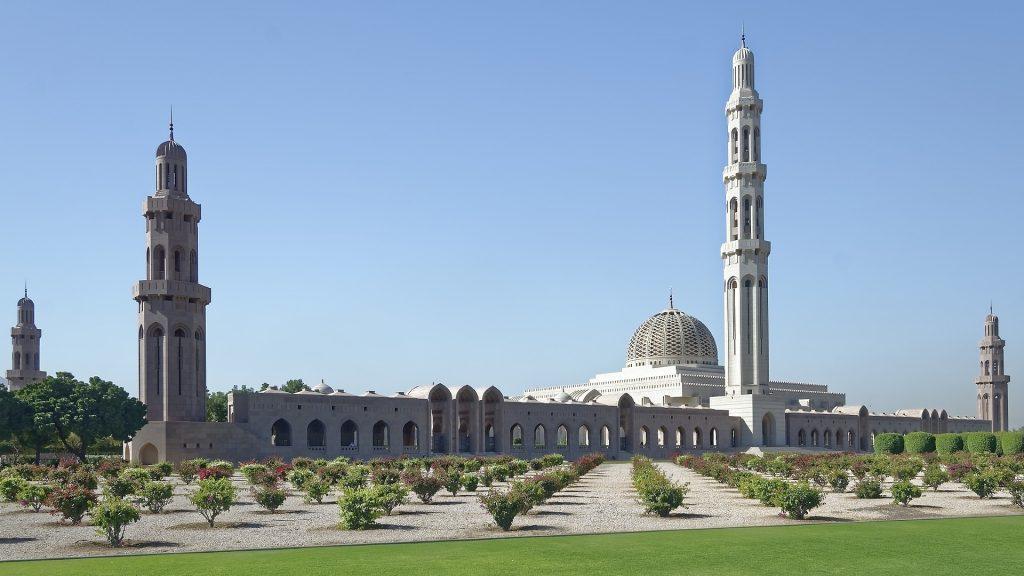 PJ im Oman (Maskat) - Freizeitaktivitäten - Sultan Qabus Grand Mosque - by pixabay