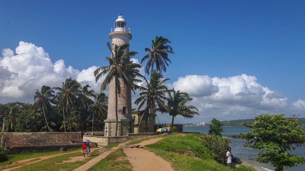 PJ in Sri Lanka (Galle) - Freizeitaktivitäten - Leuchtturm