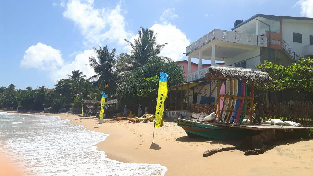 PJ in Sri Lanka (Galle) - Freizeitaktivitäten - Surfstrand
