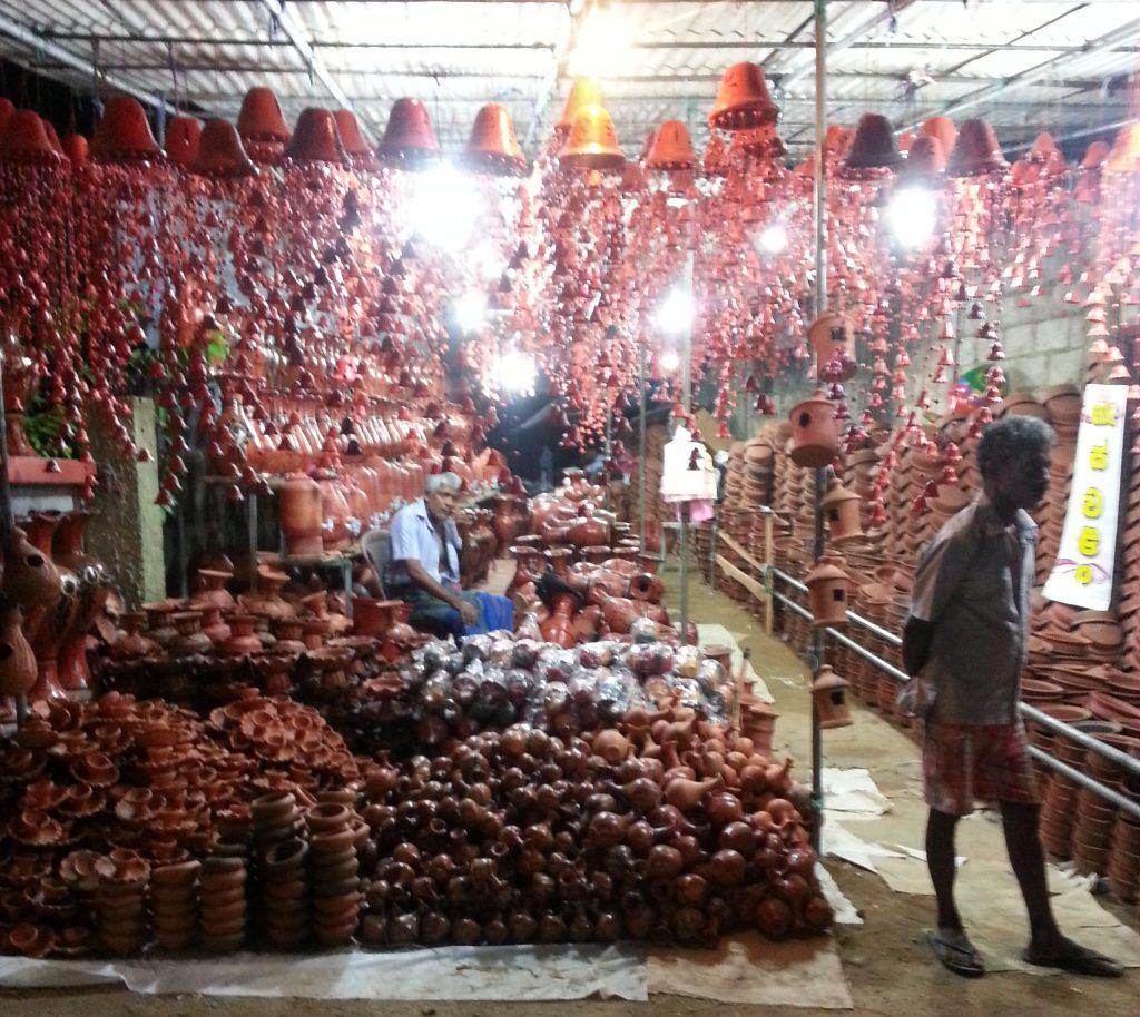 PJ in Sri Lanka (Galle) - Freizeitaktivitäten - Unawatuna Market