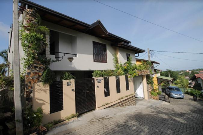 PJ in Sri Lanka (Galle) - Unterkunft - Haus im Sanron Home Stay