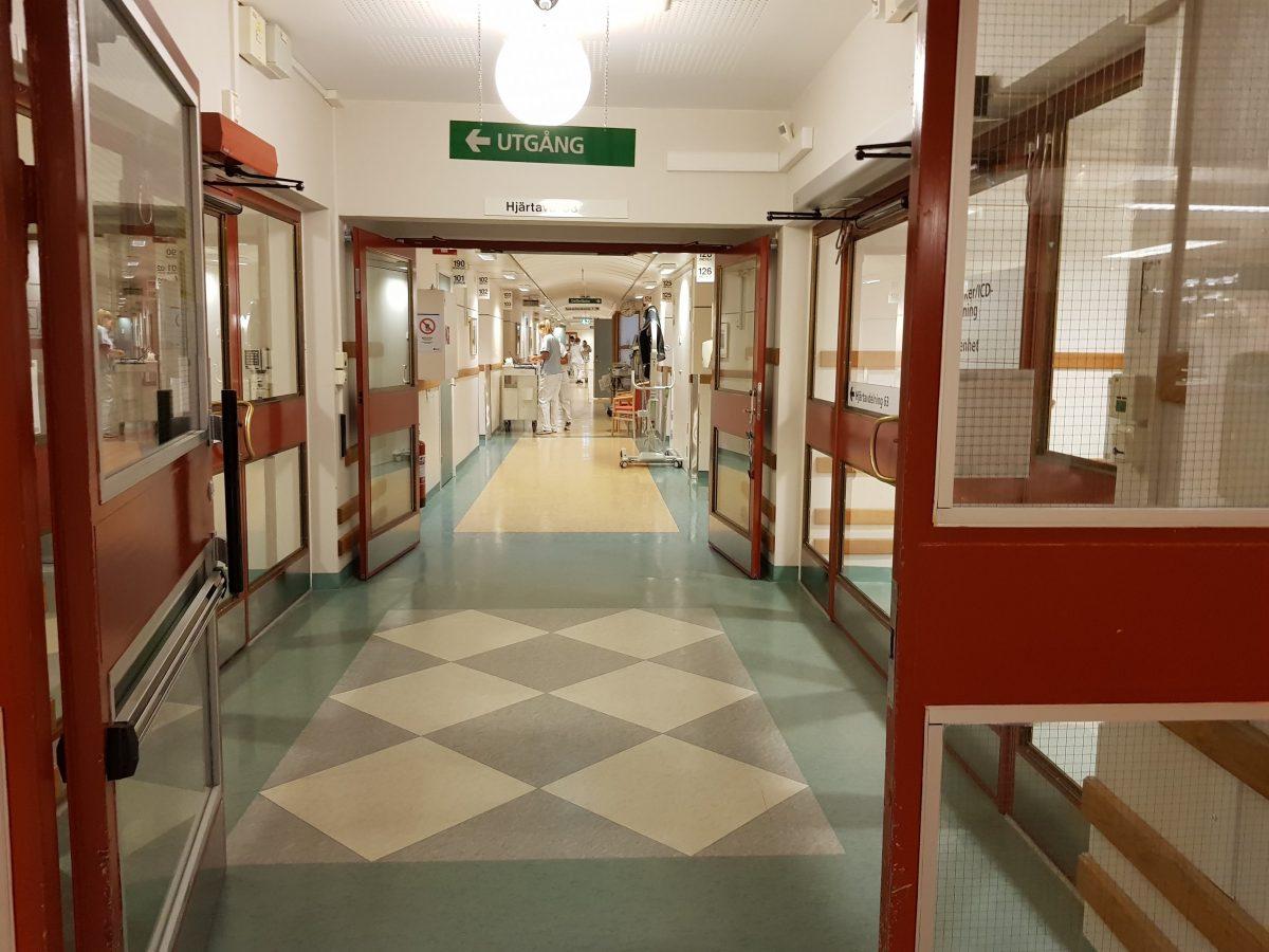 Famulatur in Schweden (Örebro) - Ablauf in der Kardiologie - Patientenzimmer