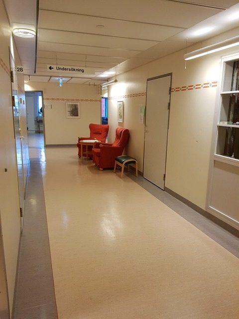 Famulatur in Schweden (Örebro) - Kardiologie - Gang im Krankenhauses
