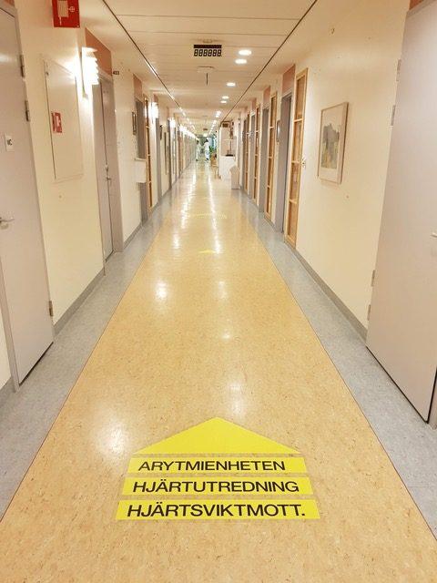 Famulatur in Schweden (Örebro) - Kardiologie - Station des Krankenhauses