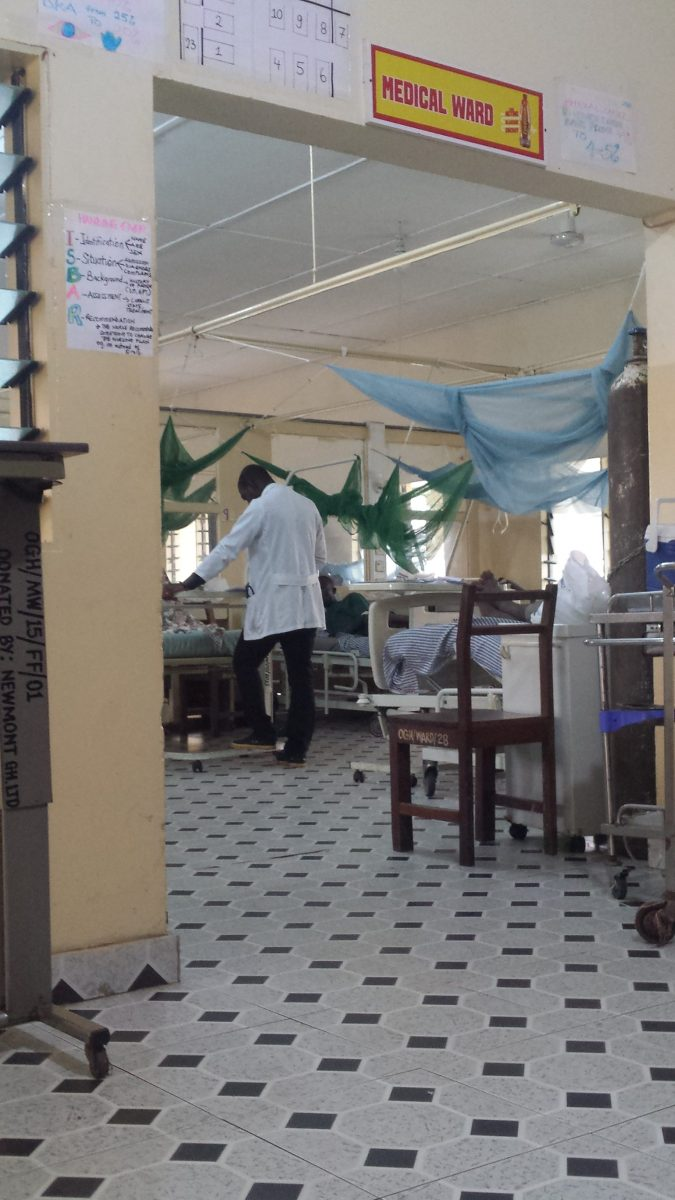 Famulatur in Ghana (Akim Oda) - Ablauf in der Chirurgie - Station
