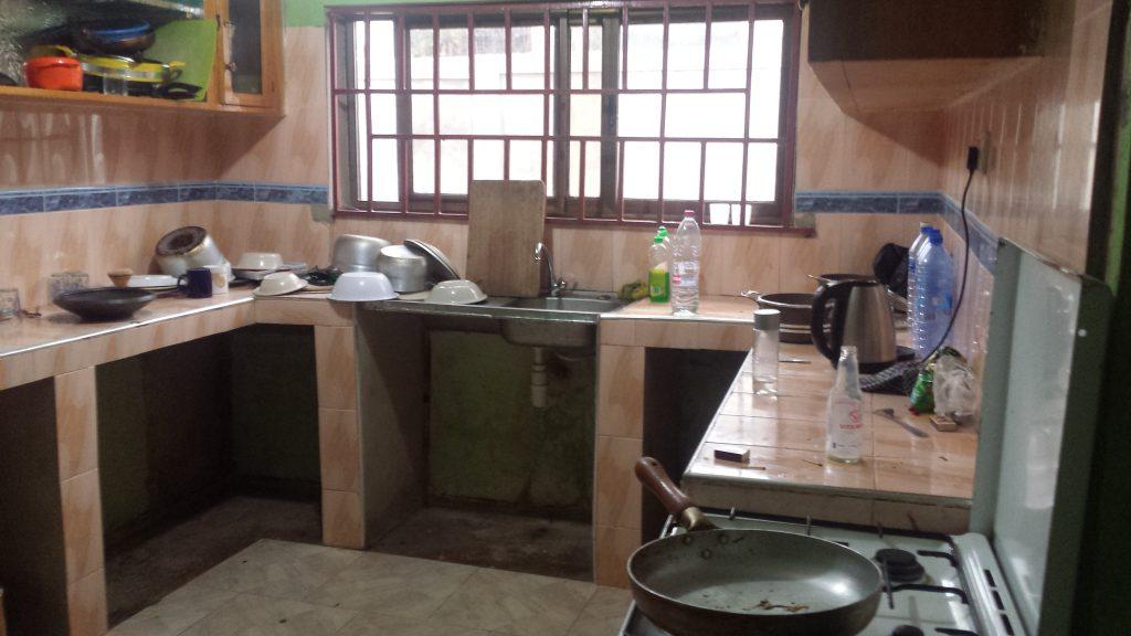 Famulatur in Ghana (Akim Oda) - Unterkunft Appartement Küche