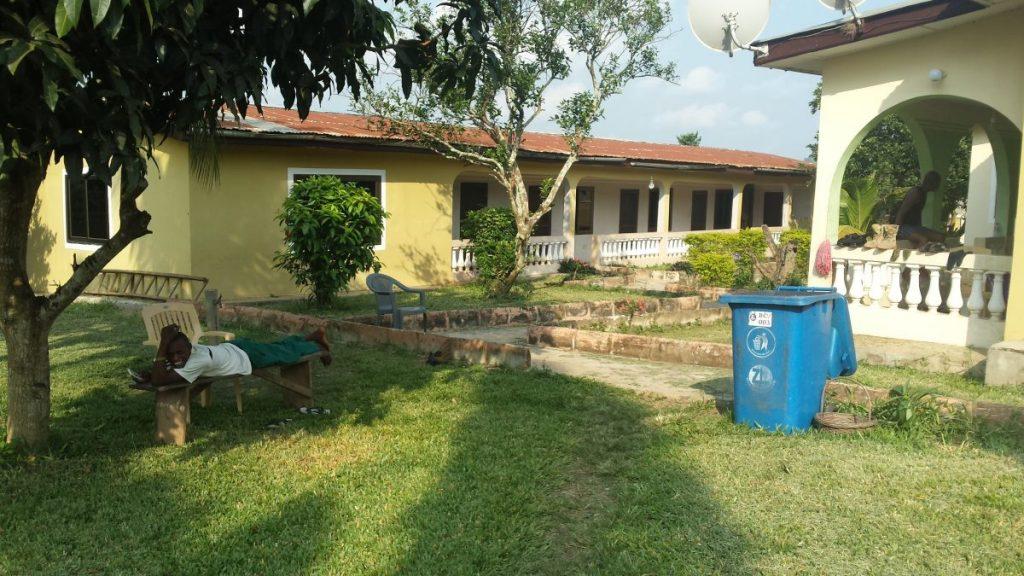 Famulatur in Ghana (Akim Oda) - Unterkunft Appartement