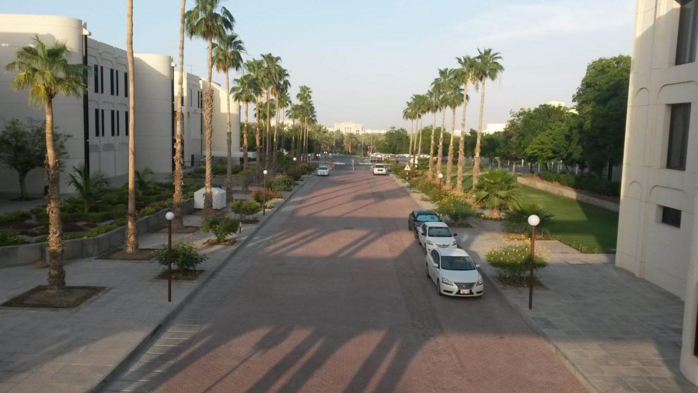 PJ im Oman (Maskat) - Ablauf - Campus