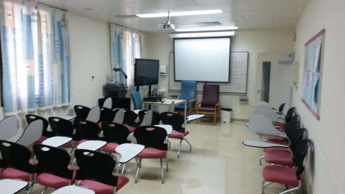 PJ im Oman (Maskat) - Ablauf - Konferenzraum