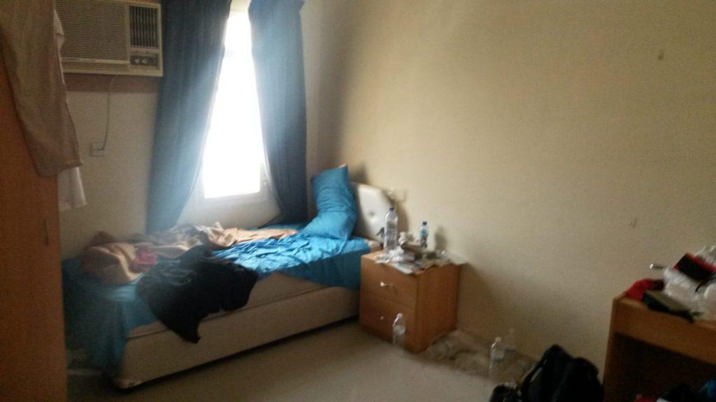 PJ im Oman (Maskat) - Unterkunft - Zimmer