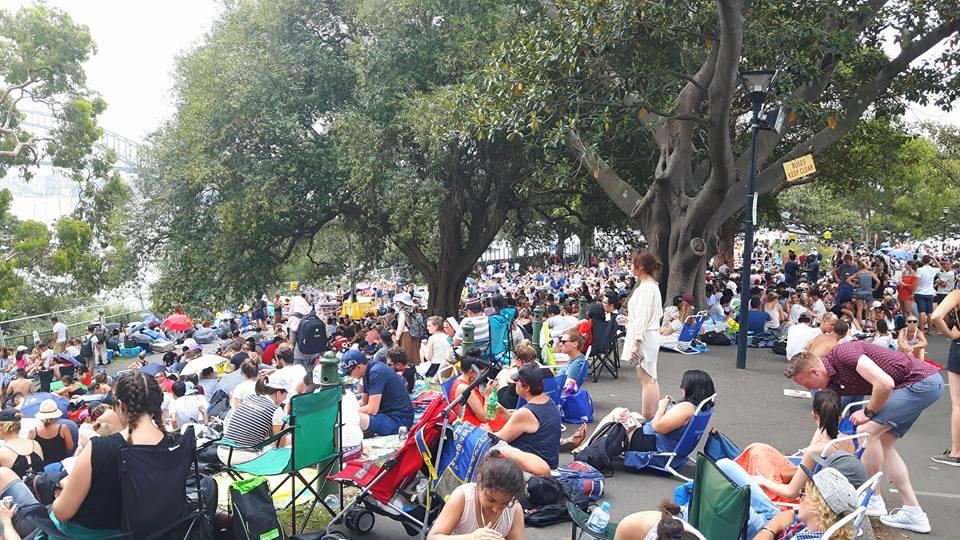 PJ in Sydney Freizeitaktivitäten New Years Park