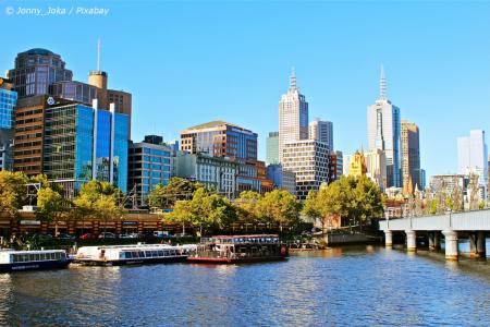 PJ in Australien (Melbourne)